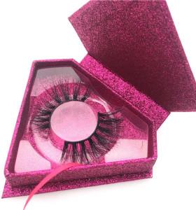 100% Mink Fur Eyelashes Wholesale Private Label Mink Lashes, Customize Packaging Real Mink Eyelashes