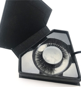 Black Diamond Eyelash Packing 3d Mink False Eye Lashes Own Brand Wholesale Mink Eyelashes