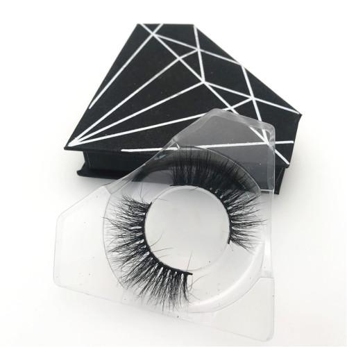 Black Diamond Eyelash Packing 3d Mink False Eye Lashes Own Brand Wholesale Mink Eyelashes