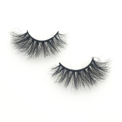 Mink Lashes Vendors Supplies handmade 3d mink eyelashes with custom box your own brand Lashes