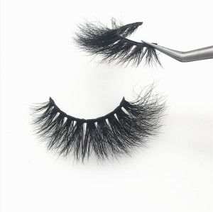 Produced by mink eyelashes vendor custom eyelash box private label mink lashes 5D mink eyelashes