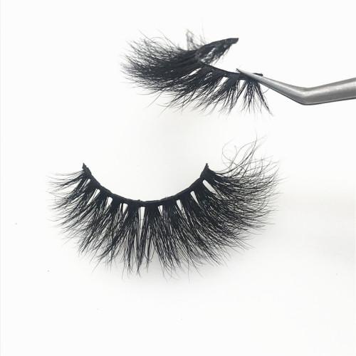Produced by mink eyelashes vendor custom eyelash box private label mink lashes 5D mink eyelashes