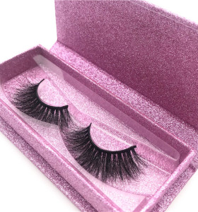 Wholesale eyelash packaging box Private Label mink eyelashes Cruelty Free 3d Mink Eyelashes