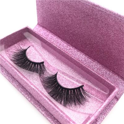 Wholesale eyelash packaging box Private Label mink eyelashes Cruelty Free 3d Mink Eyelashes