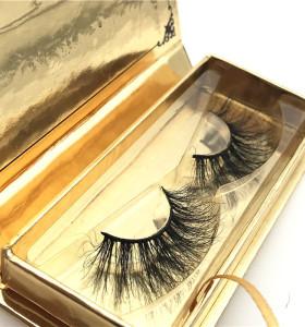 Siberian 3D Mink Lashes Premium False Eyelashes Wholesale Natural Volume Eye Lashes Manufacturer