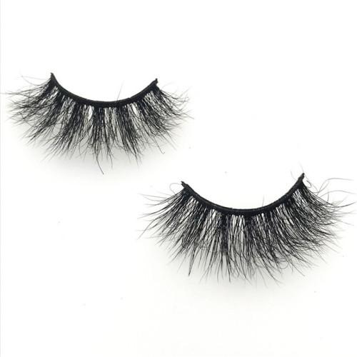 100% Mink Fur False Eyelashes Wholesale Customize Packaging Real 3D Mink Eyelashes