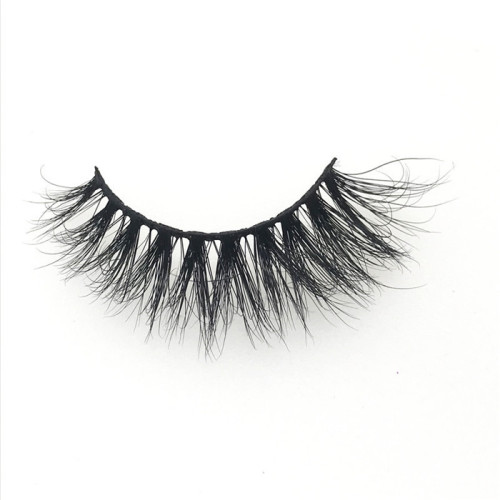 Luxury Handmade 100% Real 3D Mink Eyelashes, custom empty lash case natural private label eyelashes