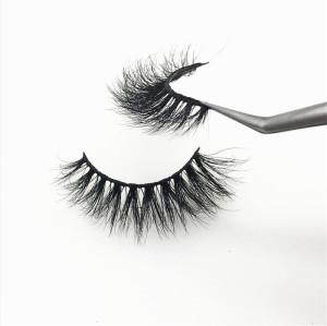Luxury Handmade 100% Real 3D Mink Eyelashes, custom empty lash case natural private label eyelashes