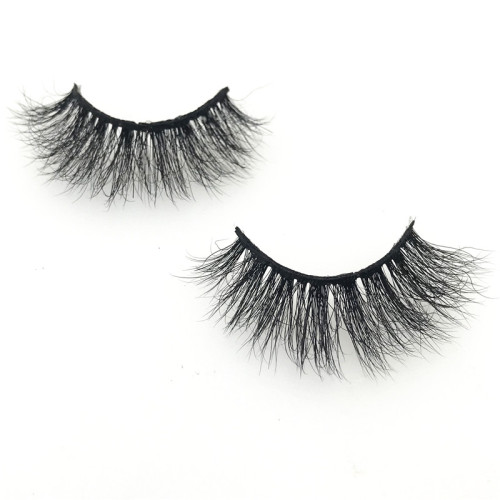 Wholesale High Grade 3D Real Mink Eyelash, Real Siberian Mink Strip Lashes Private Label Packaging