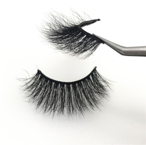 Soft 100% Handmade mink eyelashes Wholesale glitter lashes boxes Custom Packaging 3D Mink Eyelashes