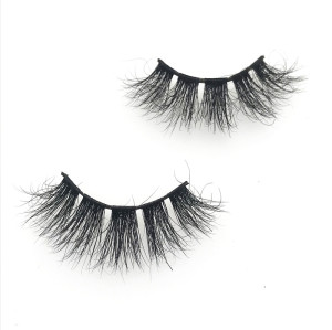 OEM mink lashes packaging cruelty free individual fluffy eyelash fur lashes 3d mink eyelashes