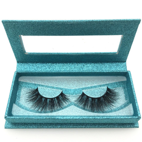 Wholesale 100% real siberian mink fur eyelashes make your own brand 3d mink eyelashes