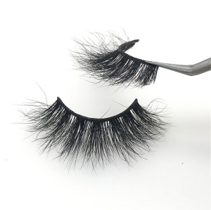 Wholesale 100% real siberian mink fur eyelashes make your own brand 3d mink eyelashes