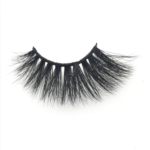 Lashes 3d wholesale vendor bulk eyelashes 3d natural long mink eyelash with packaging box