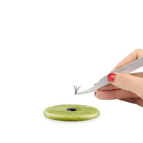 Veteran Eyelash Glue Holer Jade Stone For Eyelash Extension