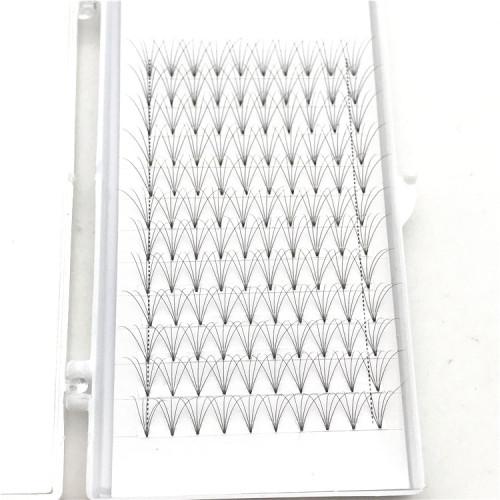 Professional Eyelash extensions Vendors 0.07 Premade Fan volume lashes 6D Russian Volume Lashes