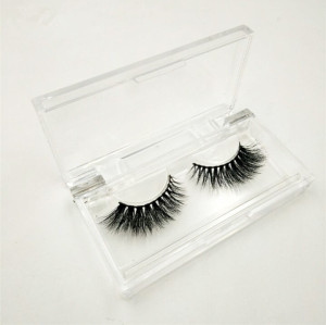 Transparent eyelash box vendors, private label lashes boxes,hot selling transparent lashes packaging