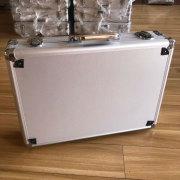 Company Customized sliver aluminum tool case aluminum metal hard box tool equipment case for sales