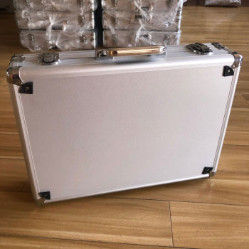 Company Customized sliver aluminum tool case aluminum metal hard box tool equipment case for sales