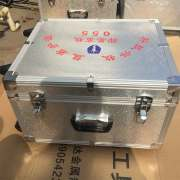 Tie rod printing partition aluminum case with wheels
