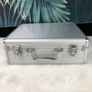 Small Silver Carrying Case Aluminum Tool Case&Box the portable light kit company customized