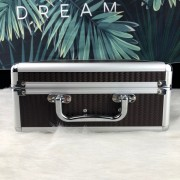 Wine glasses carrying case aluminum case tool case storage box waterproof shockproof with handle