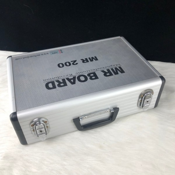 Company Customized Size Aluminum Case black printed screen printing Aluminum Carrying Tool Case