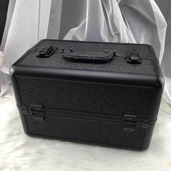 Professional make up aluminium cosmetics box, Aluminium frame beauty cosmetic box, Travel beauty box makeup
