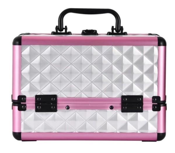 定制颜色硬铝合金化妆盒可锁化妆品化妆美容盒美甲科技美发沙龙首饰