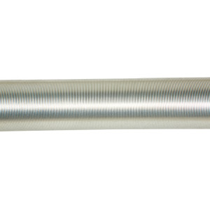 Men's white zinc weight barbell bar