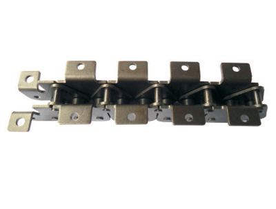 Carbon steel pitch 150mm high-low conveyor chain