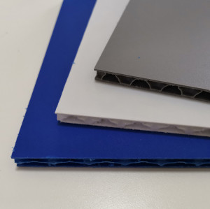 Lightweight High Impact Polypropylene Plastic PP Honeycomb Board for Pallet Container