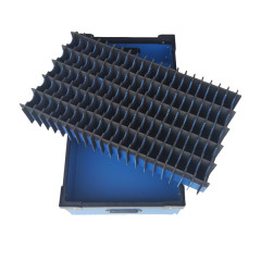 Fexible Custom New plastic pp corrugated and honeycomb box and divider with Low Cost