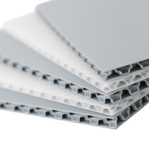 3-12mm Lightweight Plastic Polypropylene Board PP Honeycomb Panel