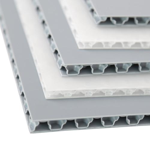 Corona Treated Printable PP Polypropylene Plastic Honeycomb Panels for Sale
