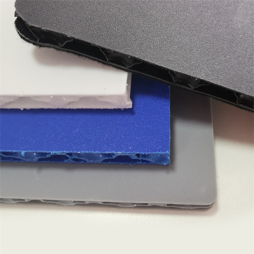Wear and Scratch Resistant Rough Plastic PP Honeycomb Panel for Flight Cases