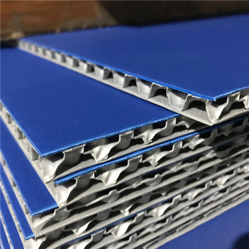 Two Color Durable Recyclable Plastic Polypropylene PP Honeycomb Board for Packing