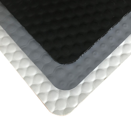 China Manufacture Plastic Polypropylene PP Bubble Sheet with or without Fabric