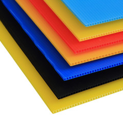 Custom Colorful Plastic Polypropylene PP Corrugated Sheet in Wide Usage
