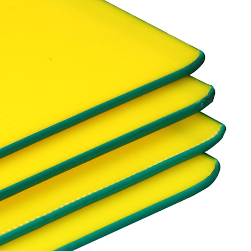 Custom Colorful Plastic Polypropylene PP Corrugated Sheet in Wide Usage