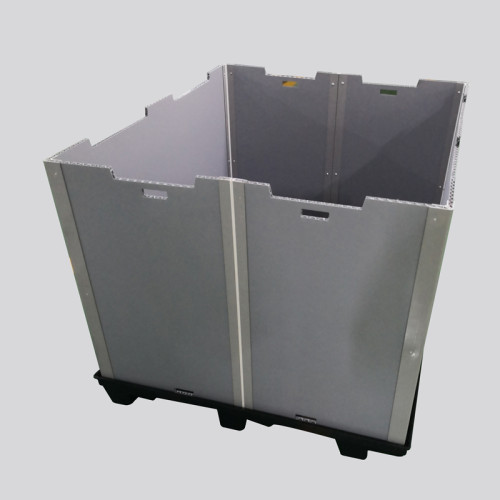 China Manufacture Custom or OEM Collapsible PP Plastic Pallet Sleeve Box System