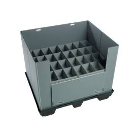 Economy  Reusable PP Plastic Pallet Sleeve for Any Application of  warehouse or transportation