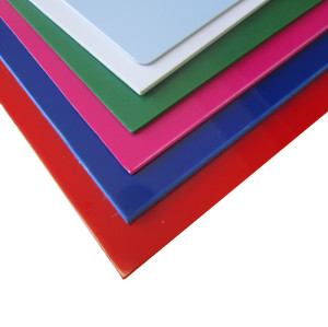 Innovated High Quality Custom Color Size Processing Printing ABS Plastic Solid Sheet