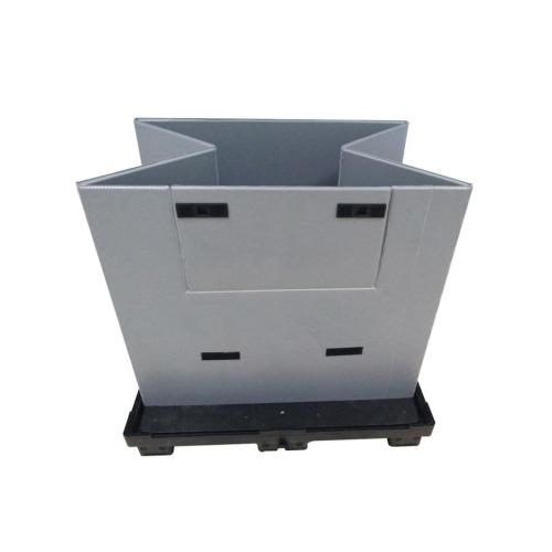 Heavy Duty PP Plastic Pallet Sleeve in one/four way solution