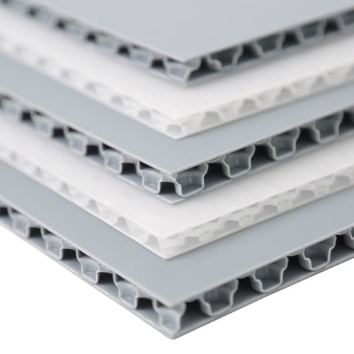 Anti-slip Lightweight Rough Surface Plastic Honeycomb PP Bubble Sheet for Floor Protection
