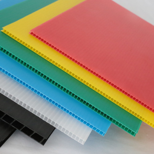 Foldabe Waterproof Durable Lightweight Polypropylene Plastic Corrugated Sheet for Packaging System
