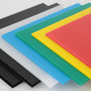 Custom Plastic PP Corplast Correx Corflute Corrugated Fluted Sheet for Protection