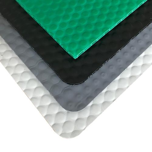 Flame Resistant Plastic Board Polypropylene PP Bubble Sheet for Automotive