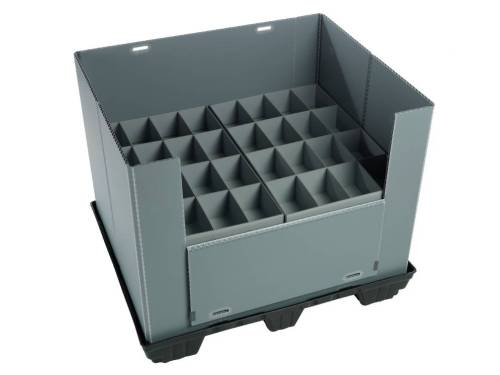 Lightweight Durable Heavy-duty PP Honeycomb Pallet Sleeve System Packs Box