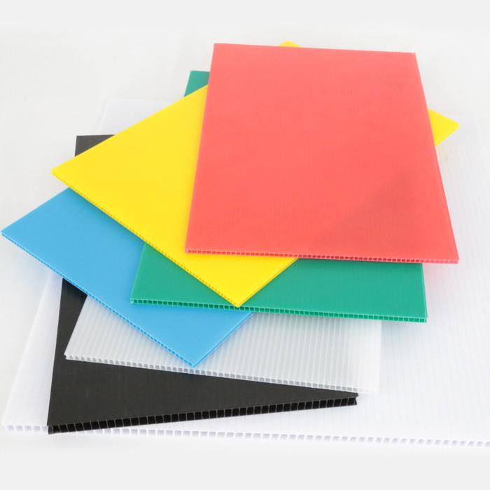 Lightweight Waterproof Printable Durable Floor Protection Polypropylene PP Corrugated Correx Sheet